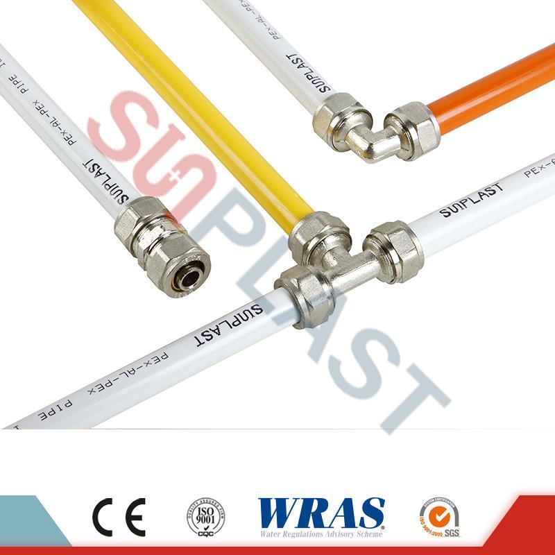 لوله های پلی اتیلن پلی اتیلن PE-AL-PE برای گاز