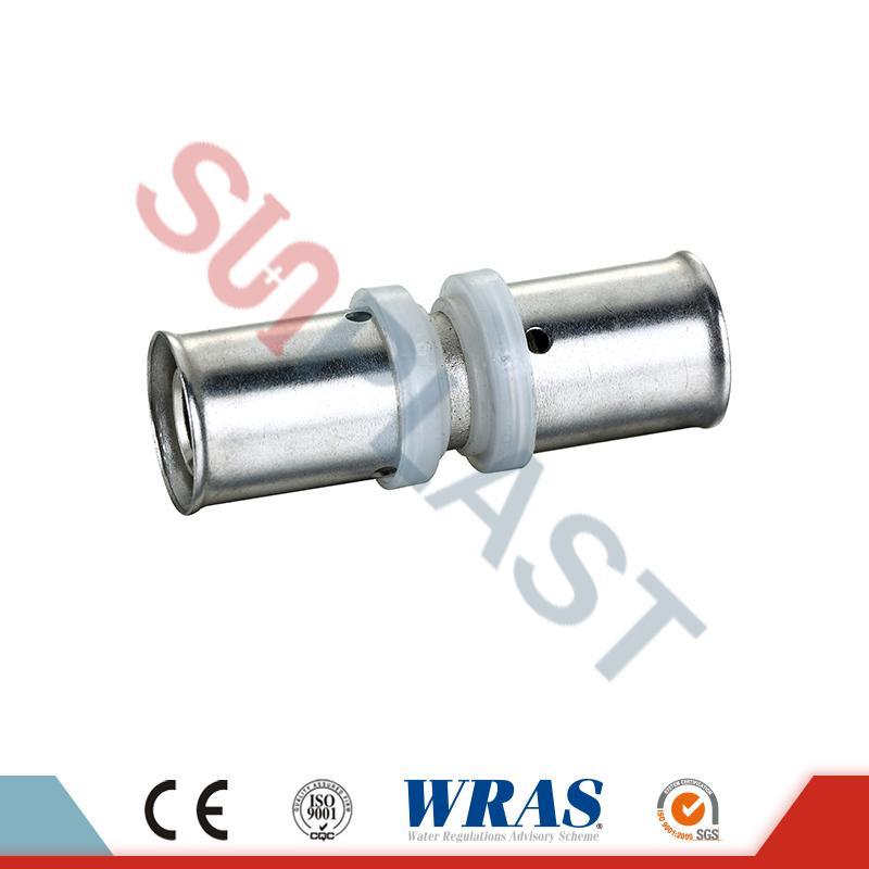 PEX-AL-PEX Pipe Brass Coupler