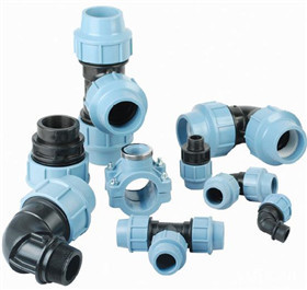 PP سیompression Fittings PN16